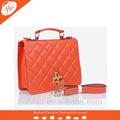 Al-120103 orange Frau handtasche hohe qualität lahm haut tasche