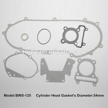 BWS 125 for motorcycle overhauling gasket