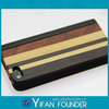 New coming genuine leather wood cell phone cover for iphone 5s