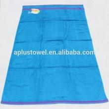100% Cotton Plain Terry Fancy Border Embroidery Jumbo Bath Towels
