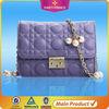 China factory hot sell cheap name brand purses fancy leather handbag
