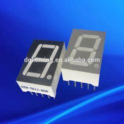 "0.56 inch mini 7 segment led display ,0.56"" 1 digit seven segment digital display"