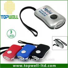 popular manual generater no need battery dynamo hand crank flashlight