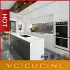 High gloss under cabinet kitchen appliances