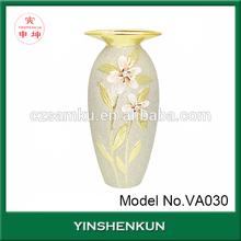 Fashionable design factory wholesale ceramic flower vase