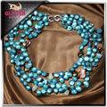 de agua dulce collar de perlas de la joyería de la perla natural precio