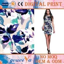 Custom Digital Printing Cotton Twill Fabric
