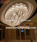 10 Lights crystal chandelier pendant light
