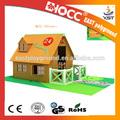 البيت الخشبي الصغير تصميم 2014/ بيت الدمية الخشبية/ خشبية حديقة المنزل