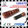 3 x AAA Battery Portable 3 Watt LED Flashlight Torch
