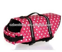 Hot sale! New design swimming equipments training equipments dog safety jacket