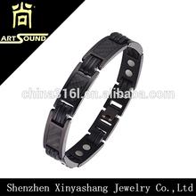 Best selling energy sports magnetic titanium bracelet