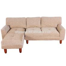 Sofa with ottoman B240