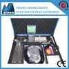 2014 new portable ultrasonic flow meter price of flow meter