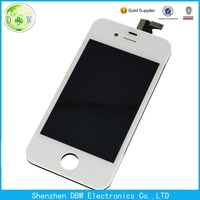 For apple iPhone 4 4G 4S Black White Front Digitizer Touch Outer Glass Lens Screen Replacement