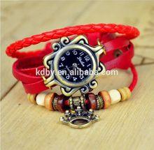 2014 Fashion Watch crown Bracelet Watch Quartz Movement Wrist Watch Girl/Women