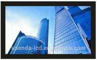 Professinal cctv system display 72 inch lcd monitor with HDMI VGA DIV