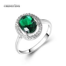 anello di lanterna verde con placcatura in oro