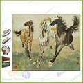 cerâmica arte da reprodução de mercadorias para casa da pintura a óleo de cavalos