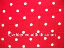 100% cotton 30*30 78*65 hot sale cheap plain printed polka dot cotton fabric
