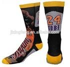 wholesale digital printed basketball socks
