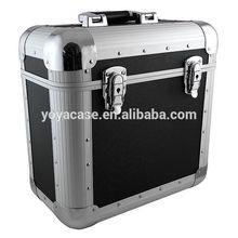 "Acc Sees Aluminium 12"" Record Box Flight Case 50 (black"