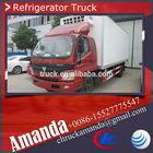 Foton Aumark 26.7cbm 5 tons vegetable transport refrigerated truck, vegetable chiller/container, vegetable freezer van/truck