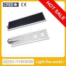 small volume all in one integrated solar street light 25W, led street light