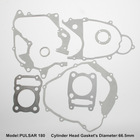 PULSAR for motorcycle complete gasket