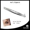 Stainess Steel Tweezers For Eyebrows/ Light Girl Eyebrow Tweezers