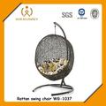 Wg-1037 outdoor& indoor-schaukel rattan stuhl ei