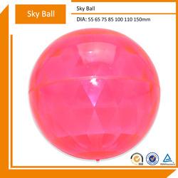2014 New Hollow TPU Super High Bouncing Comet Ball