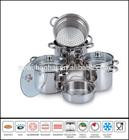 Stainless steel italian pasta cooker set SC698