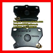 brake pads for celia corolla vios vitz yaris04466-52030 04466-52010 04466-52040 04466-52020 04466-20090 04466-52090 04466-52050