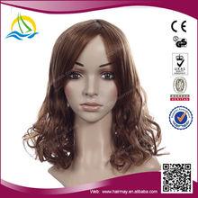 High Density Heat Resistant Fiber cheap synthetic wigs for black women