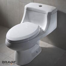 Hot sale push botton flush Washdown toilets with built-in bidet