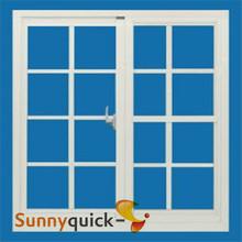 Double glazed windows grill design sliding PVC window exterior pvc windows