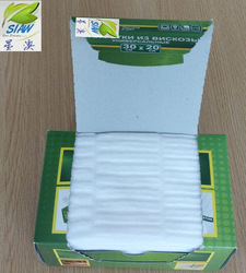 furniture100 % polyester cleaning wipes/viscose cloths
