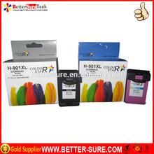 ColorStar Super Quality printer compatible ink cartridge for hp 901 hp901xl cc654a cc656a