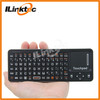 2.4GHz Wireless Mini USB Keyboard with Mouse pad