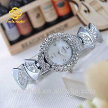 Bracelet Watches Creative Dial Diamante Strap Quartz Clock Women Dress Watches Women Rhinestone Watch
