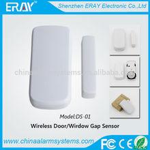 Window/Door Guard!!! low voltage alert automatic sliding door sensor with 433/315MHZ