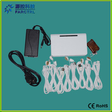 Good Quality 8 Ports Cell Phone Anti-theft Display Device With Charger