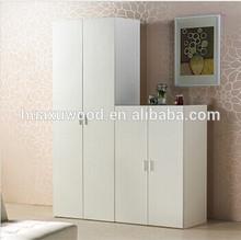 HX-MZ757 general use dresser functional cheap white hotel wardrobe
