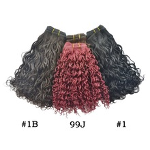 STOCK!!!Material virgin Hair Extension Type and Human Hair indian naturally curly weave hair