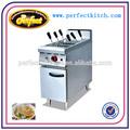 Industrial Gas Pasta Cooker com armário / gás comercial Pasta fogão / fogão de macarrão