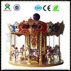 Antique kids amusement ride/carousel horse /electric racing go karts saleQX-126A
