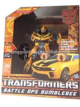 Battle Ops Bumblebee robot model - mechanical cars/ Bumblebee robot model Action Figure
