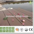 & madera plástica material compuesto decking/suelo