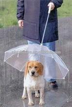 Transparent PVC pet dog umbrella
